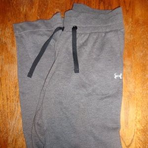 Men's Under Armour Gray Athletic Pants Size Small